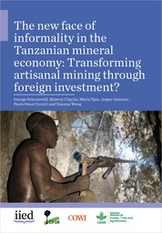 The new face of informality in the Tanzanian mineral economy: Transforming artisanal mining through foreign investment?