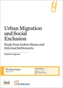 Cover of Urban migration and social exclusion paper