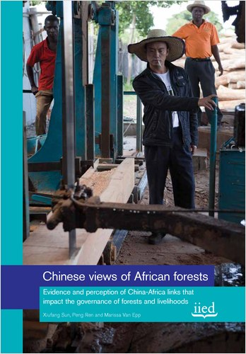 Chinese views of African forests: Evidence and perception of China-Africa links that impact the governance of forests and livelihoods