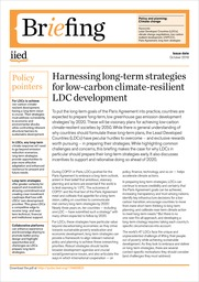 Harnessing long-term strategies for low-carbon climate-resilient LDC development