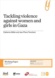 Tackling violence against women and girls in Gaza