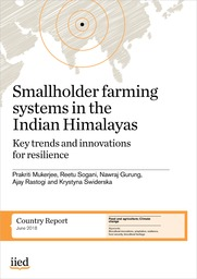 Smallholder farming systems in the Indian Himalayas: Key trends and innovations for resilience