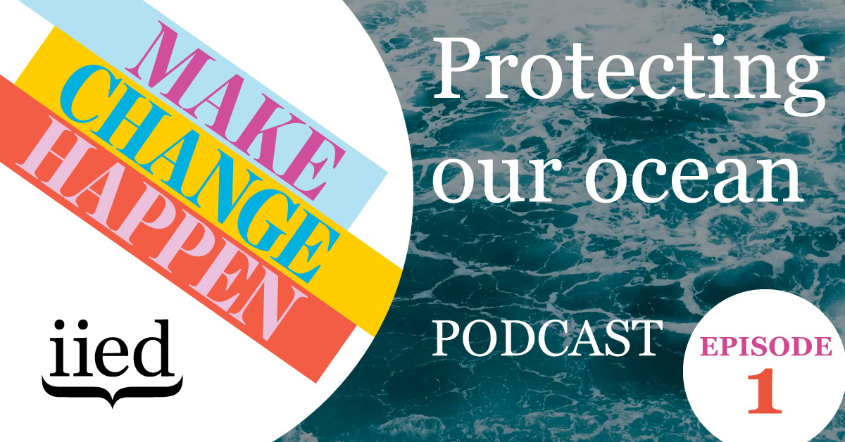 Protecting our ocean: Make Change Happen podcast episode 1