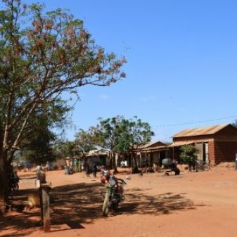 The centre of Dongo village in Tanzania (Photo: Chih-Jung Lee)