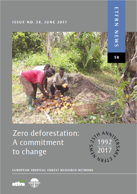 Zero deforestation: A commitment to change