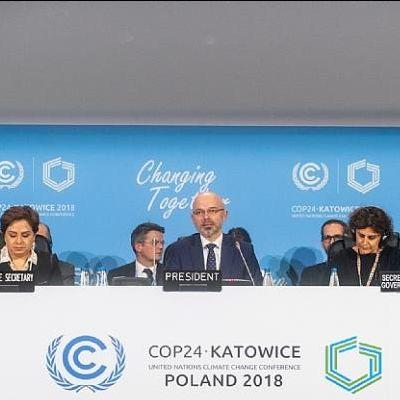 Closing plenary of COP24 with President, Mr. Michał Kurtyka.
