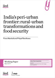 India's peri-urban frontier: rural-urban transformations and food security