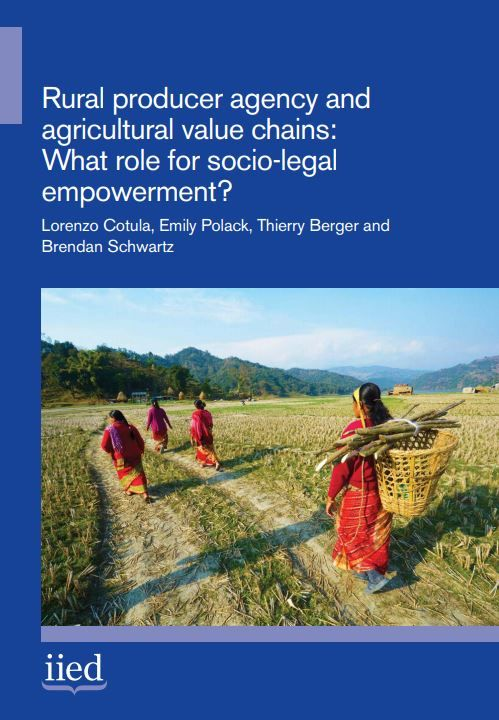 Rural producer agency and agricultural value chains: What role for socio-legal empowerment?