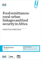 Food remittances: rural-urban linkages and food security in Africa