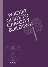 Pocket guide to capacity building for climate change