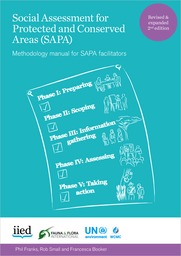 Social Assessment for Protected and Conserved Areas (SAPA) Methodology manual for SAPA facilitators
