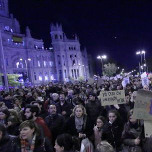 Thousands of people called for more action on climate change at a march in Madrid organised by activist group Fridays for Future (Malopez 21 via Wikimedia, CC BY-SA 4.0)