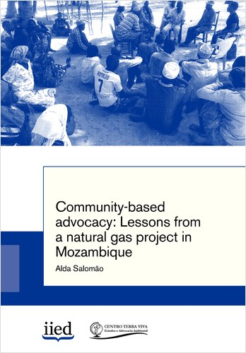 Community-based advocacy: Lessons from a natural gas project in Mozambique