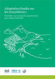 Adaptation fondée sur les écosystèmes: Orientation sur la base d'un questionnaire pour évaluer l'efficacité