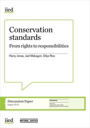 Conservation standards: From rights to responsibilities