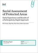 Social Assessment of Protected Areas: Early experience and results of a participatory, rapid approach
