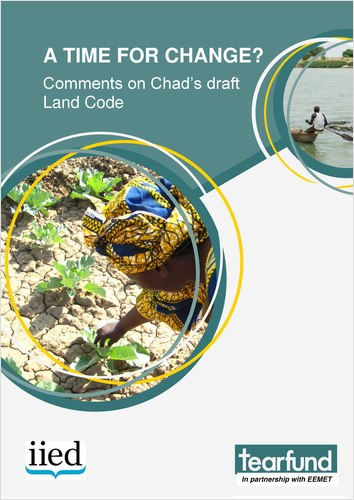 Cover of:A time for change? Comments on Chad's draft Land Code