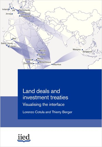 Cover of land deals and invetsment treaties: visualising the interface
