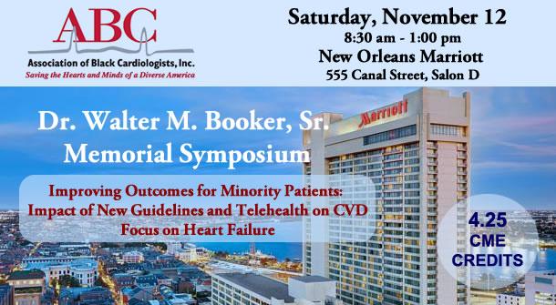 Dr. Walter M. Booker, Sr. Memorial Symposium