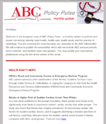 ABC Policy Pulse