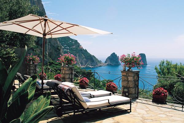 Villa Piccolo Eremo, Capri