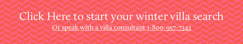 Start your winter villa search