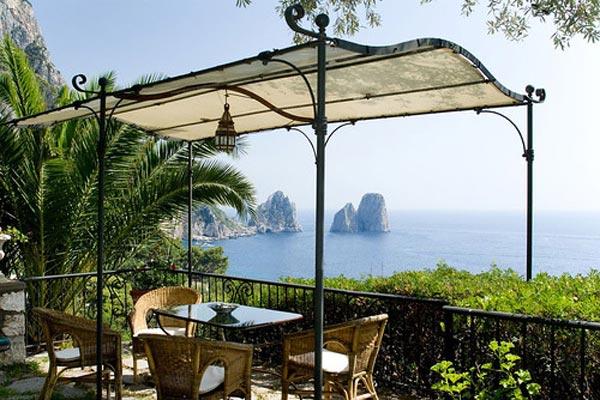 Villa Eremo, Capri