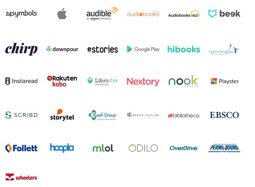 Audiobook retailers