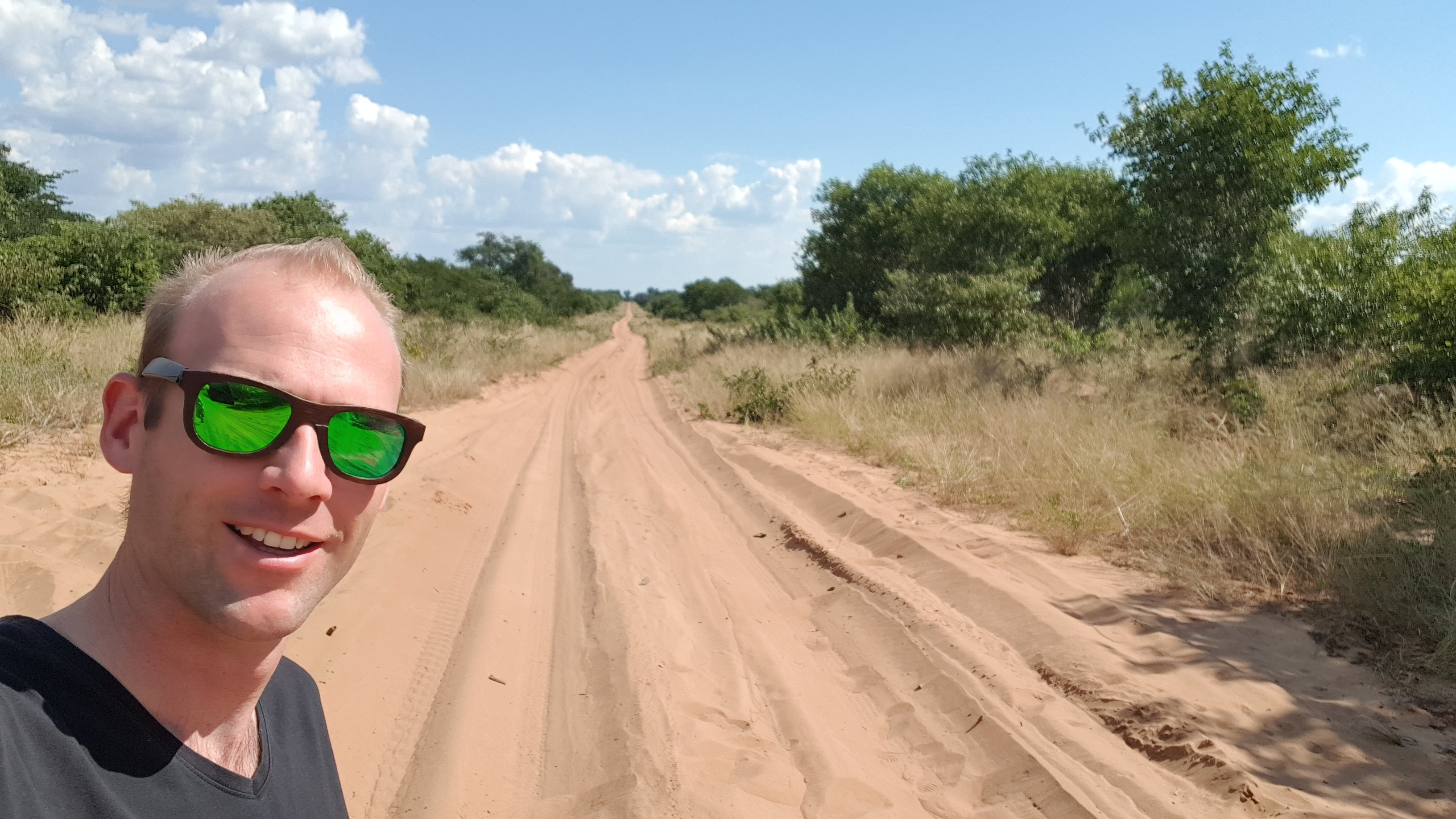 Martijn in Namibië