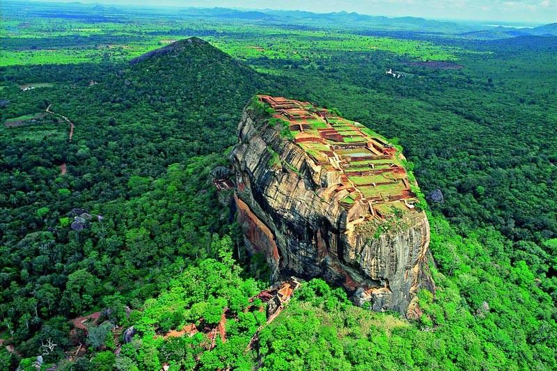 uitzicht op Lion's Rock