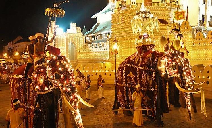 Perahera festival Kandy