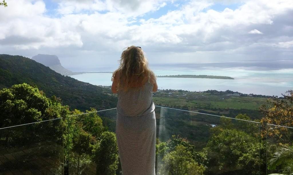 Annefleur op Mauritius