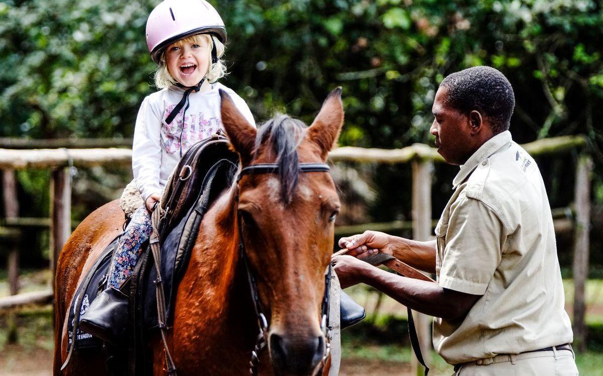 Paardrijden in Zuid-Afrika