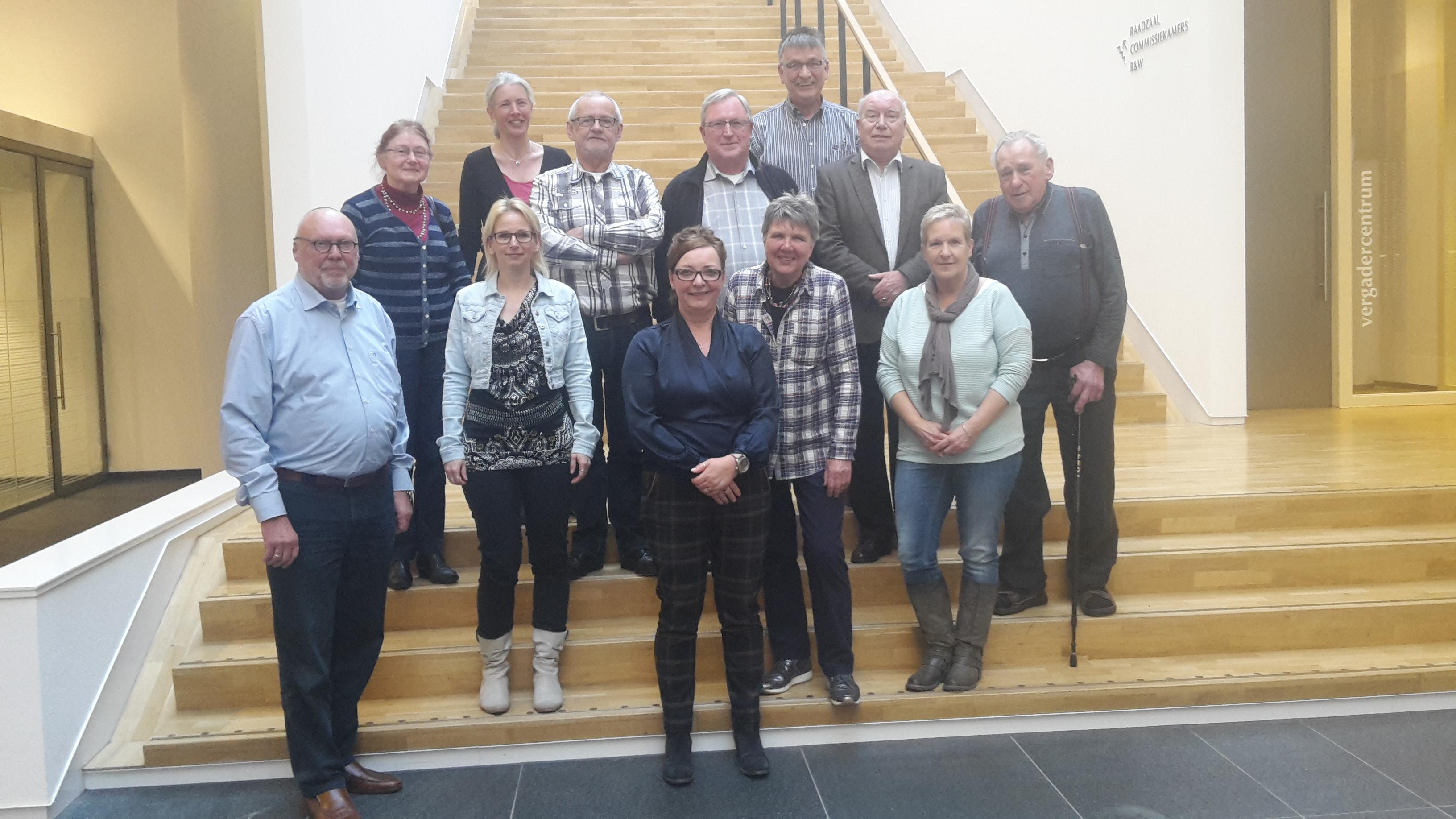 Aantal leden van de Wmo Klankbordgroep Midden-Limburg