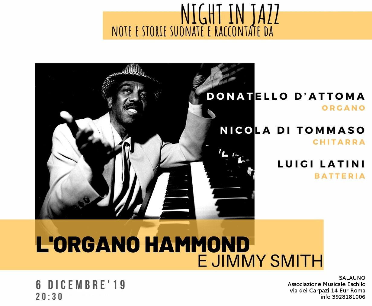 Jimmy Smith e l'organo nel jazz
