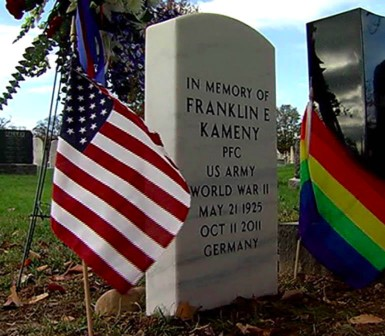 Frank Kameny Honored at the Congressional Cemetary