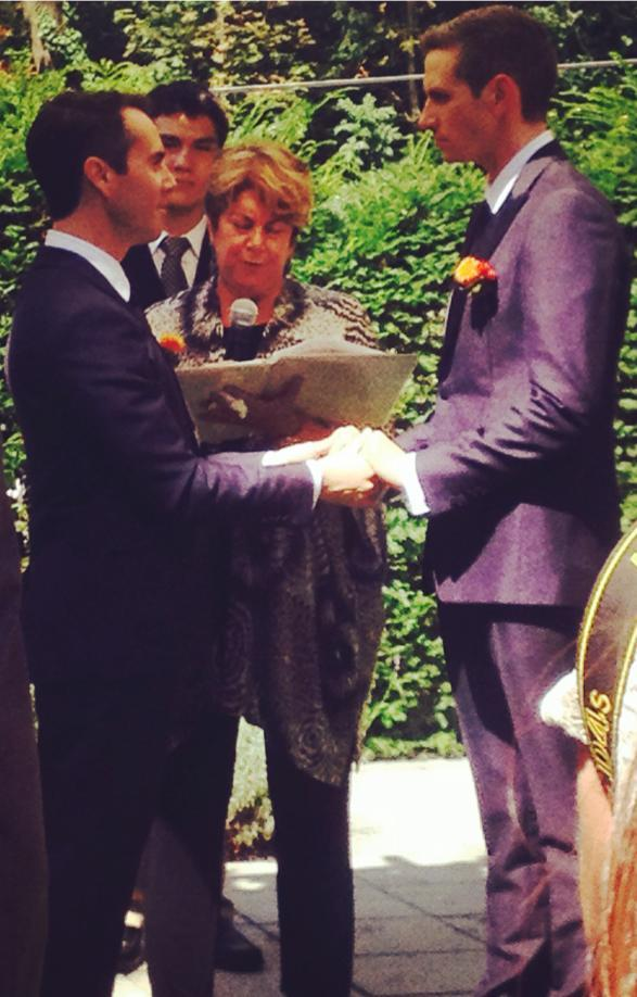 U.S. Ambassador Dan Baer Marries Partner Brian Walsh