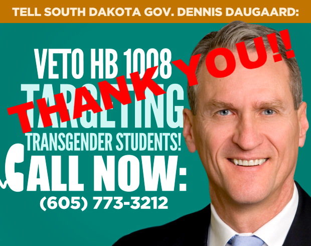 South Dakota Stops Transgender Discrimination