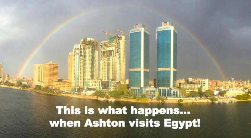 Ashton's Rainbow Over the Nile