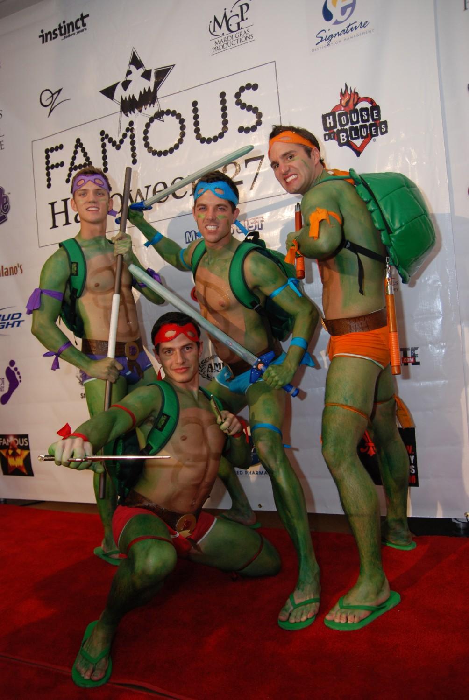 Teenage Gay Ninja Turtles