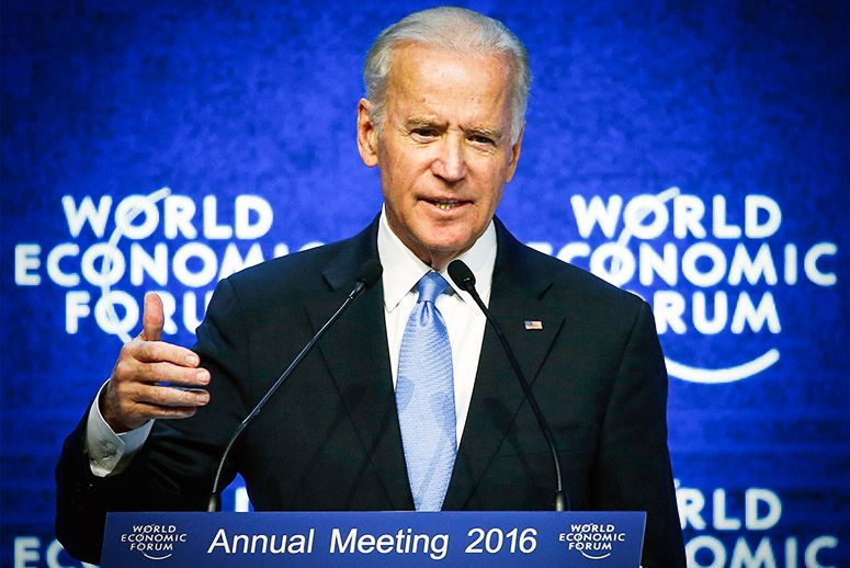 Biden Supports LGBT Equality with forceful speech at Davos