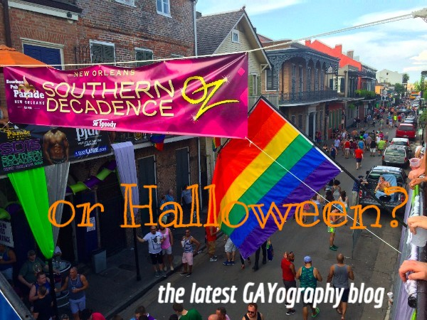 GAYography's New Orleans Halloween Blog!