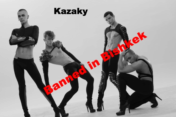 Shirtless Boyz in Heels - Kazaky