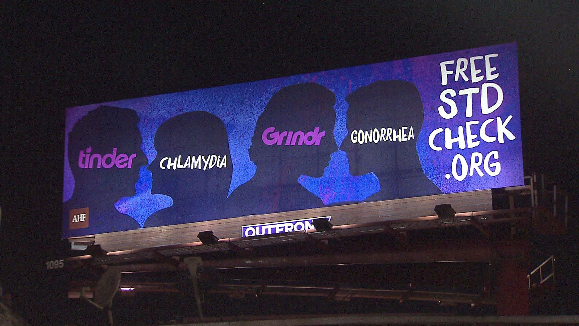 LA STD Billboard