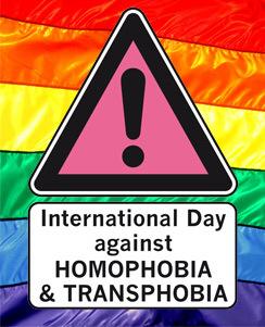 International Day Against Homophobia & Transphobia