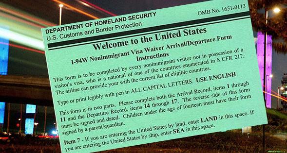 New Visa Waiver Requirements