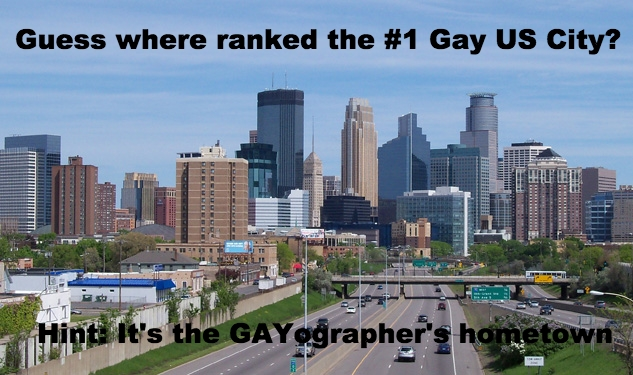 Minneapolis Ranks #1 best city for gay travelers