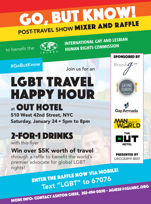 LGBT Travel Happy Hour