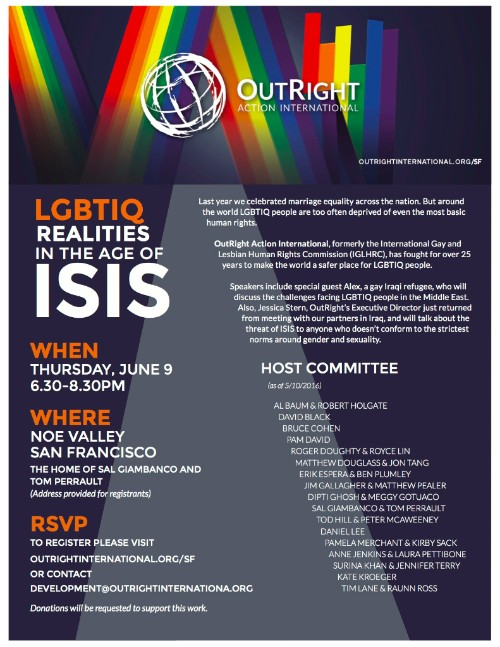LGBTIQ Realities in the Age of ISIS