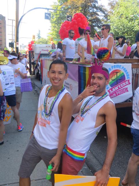 Vancouver Pride Parade!